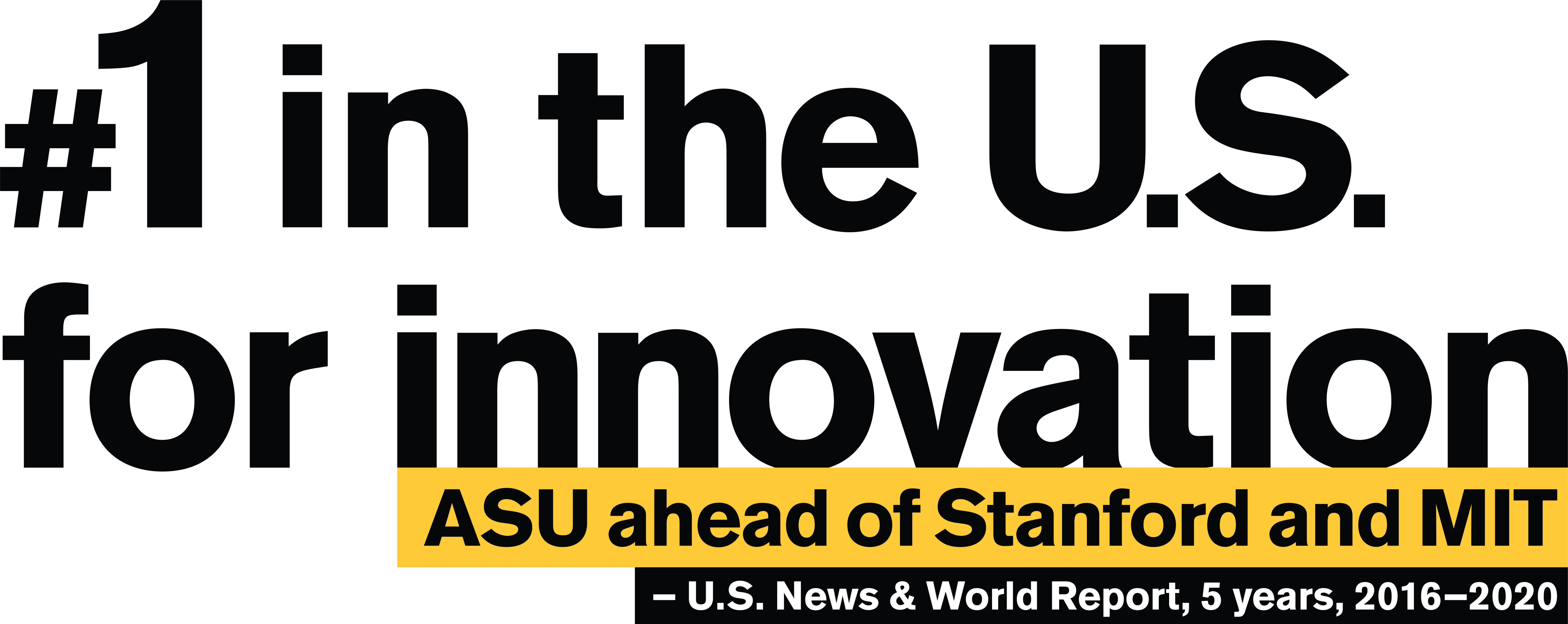 ASU Ranking #1 in the U.S. for innovation